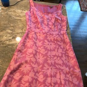 Ann Taylor size 0 pink dress